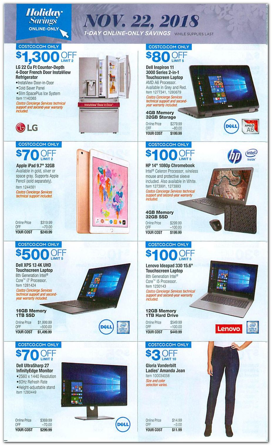 eeff29eb69 Costco Black Friday 2019 Ad
